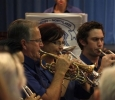 "CNL Brass Cornet Section ""maintaining the melody"" at the Rhapsody in Brass Concert Sunday 13 October 2013"