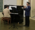 Clarence Leung, Principal Cornet, CNL Brass, contests at Hunter Regional Band Association's Solos 4 August 2013