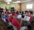 CNL Brass entertains family and friends at the Christmas Function, 18 December 2013