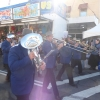 CNL Brass marching in the Wallsend Winter Carnivale Grand Parade 9th August 2015