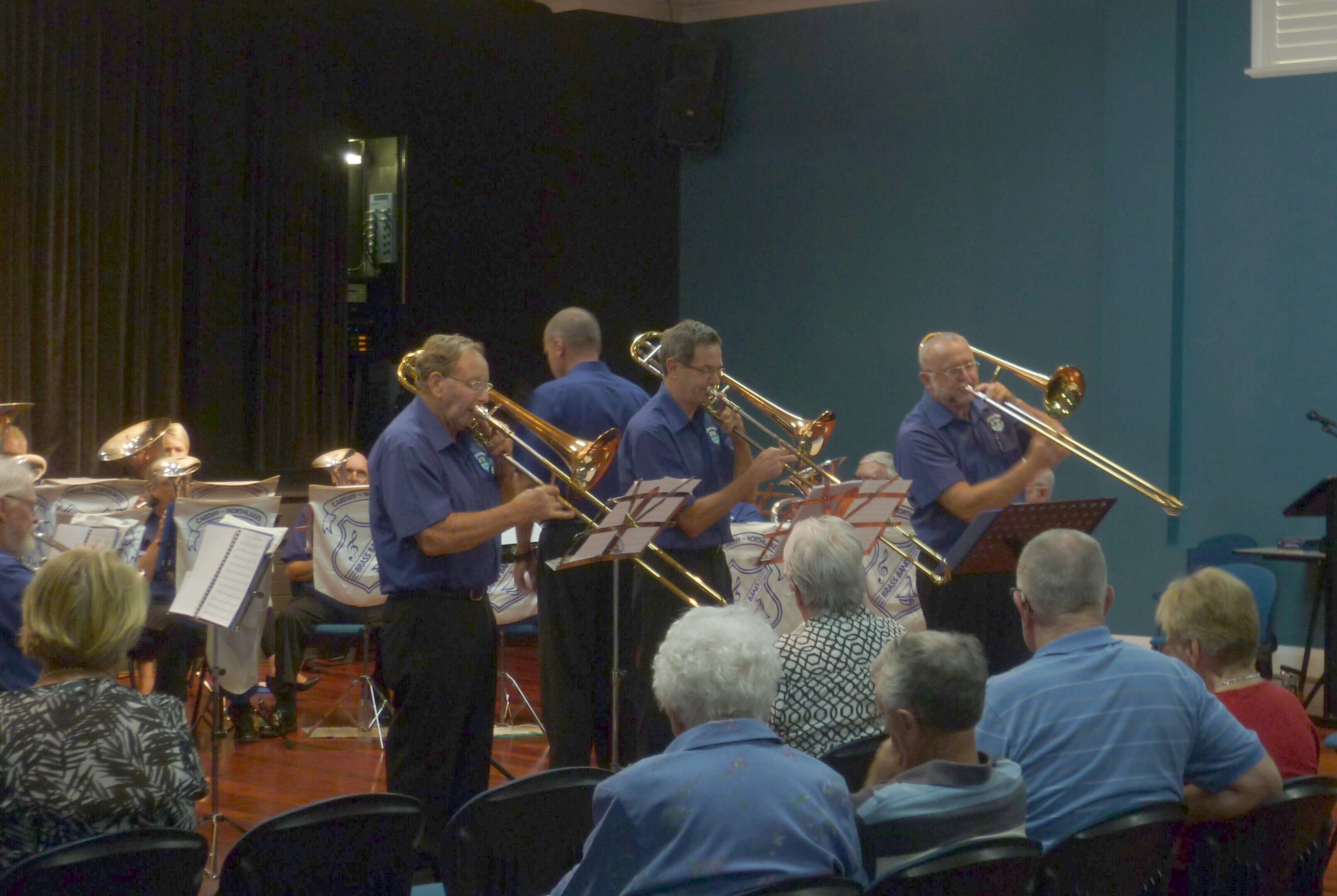 "The Trombone Section play ""The Attack of the Killer Trombones"" at the ""Valentine's in March"" Concert 20 March 2016"