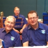A good mood prevails for the baritones Ken and Andy and trombone Arthur at the Afternoon of Good Music Concert 22 May 2016