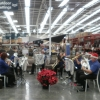 CNL Brass Ensemble play Christmas Carols at Bunnings Boolaroo: Saturday 17 December 2016