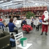 CNL Brass Carols Ensemble playing Christmas Carols at Bunnings Boolaroo with Santa as guest 17 December 2016
