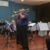 "Marcus Holdsworth features on trombone playing ""Can't Take My Eyes Off You"" at the ""Valentine's in March"" Concert 20 March 2016"