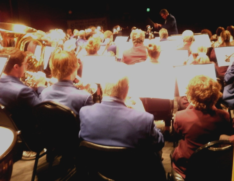 John Kellaway conducts CNL Brass and Tamworth RSL Brass Band