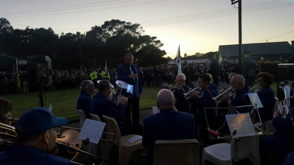 Full Band Dawn Service