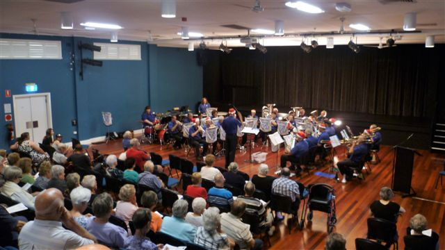 CNL Brass entertain at the Christmas in Brass Concert